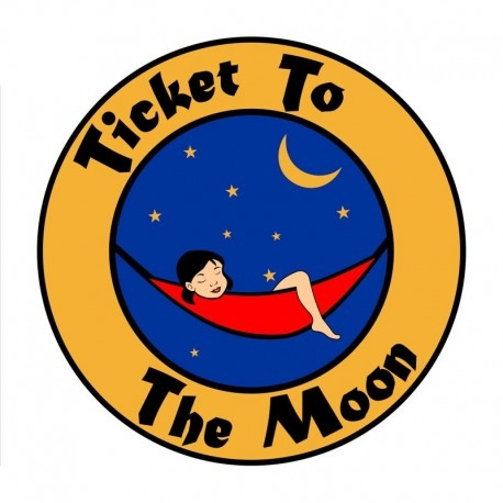 Hamac Toile De Parachute Ticket To The Moon Single Hamac En