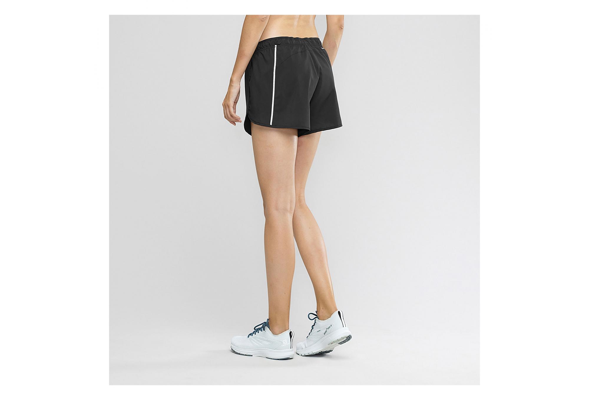 Pantalón corto para mujer Salomon Agile Negro