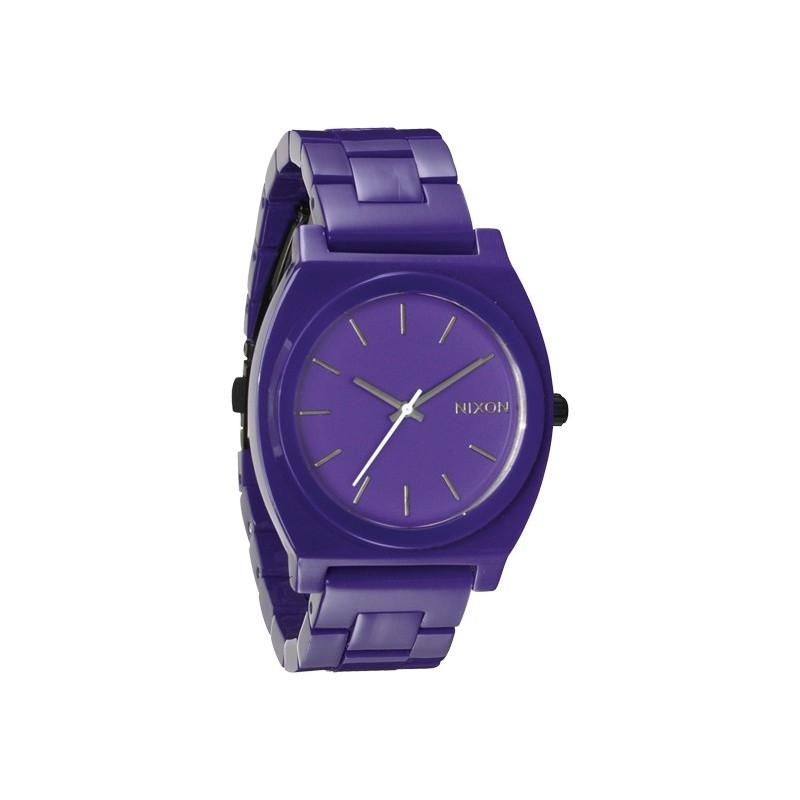 montre nixon the time teller acetate purple. Black Bedroom Furniture Sets. Home Design Ideas