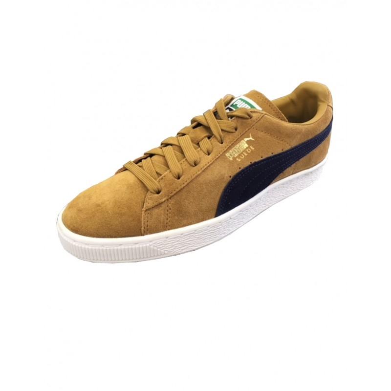 Chaussures Bistre Peacoat Puma Suede Classic ZiPXwukOT