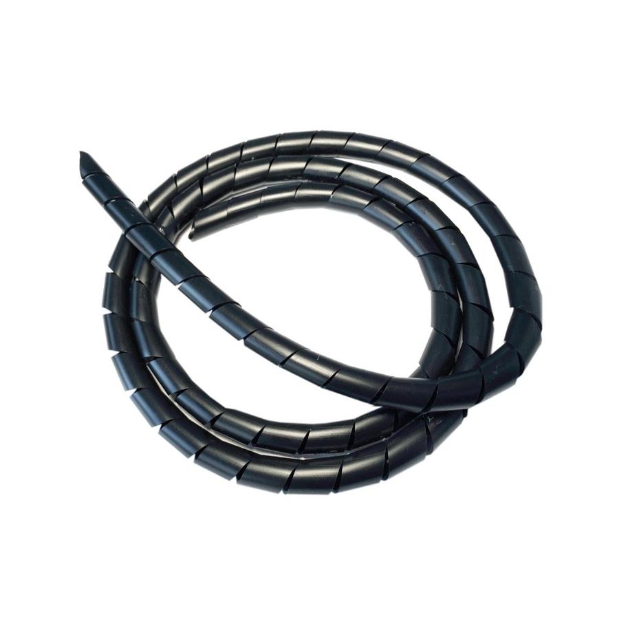 gaine spirale noir pour la protection des c bles lectriques sur vae. Black Bedroom Furniture Sets. Home Design Ideas