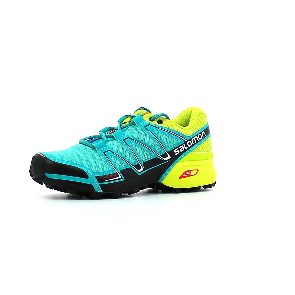Speedcross de Bleu Chaussures VarioW Trail Femme Salomon 5q3LARj4