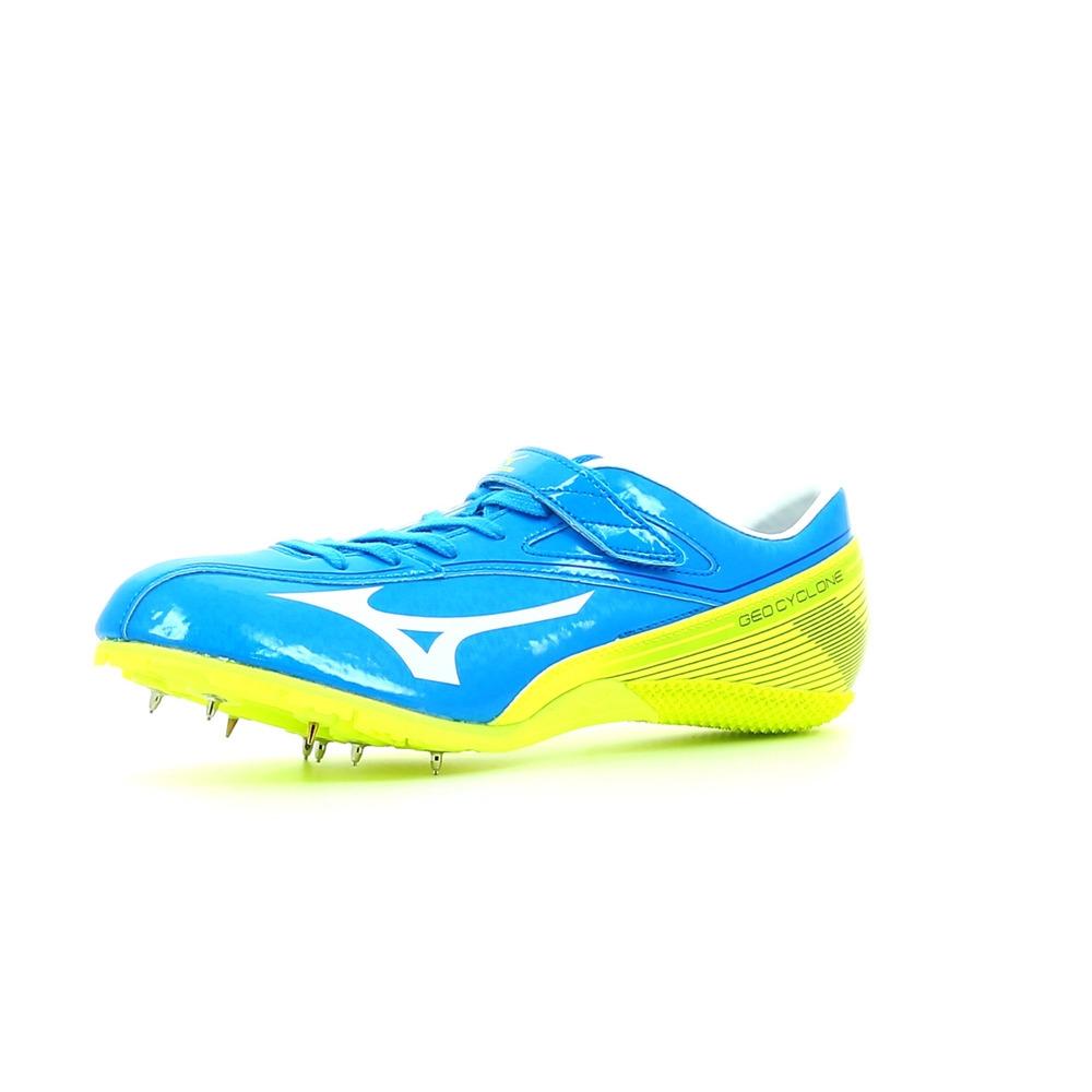 Mizuno Geo Cyclone Bleu - Livraison Gratuite avec - Chaussures Chaussures-de-running