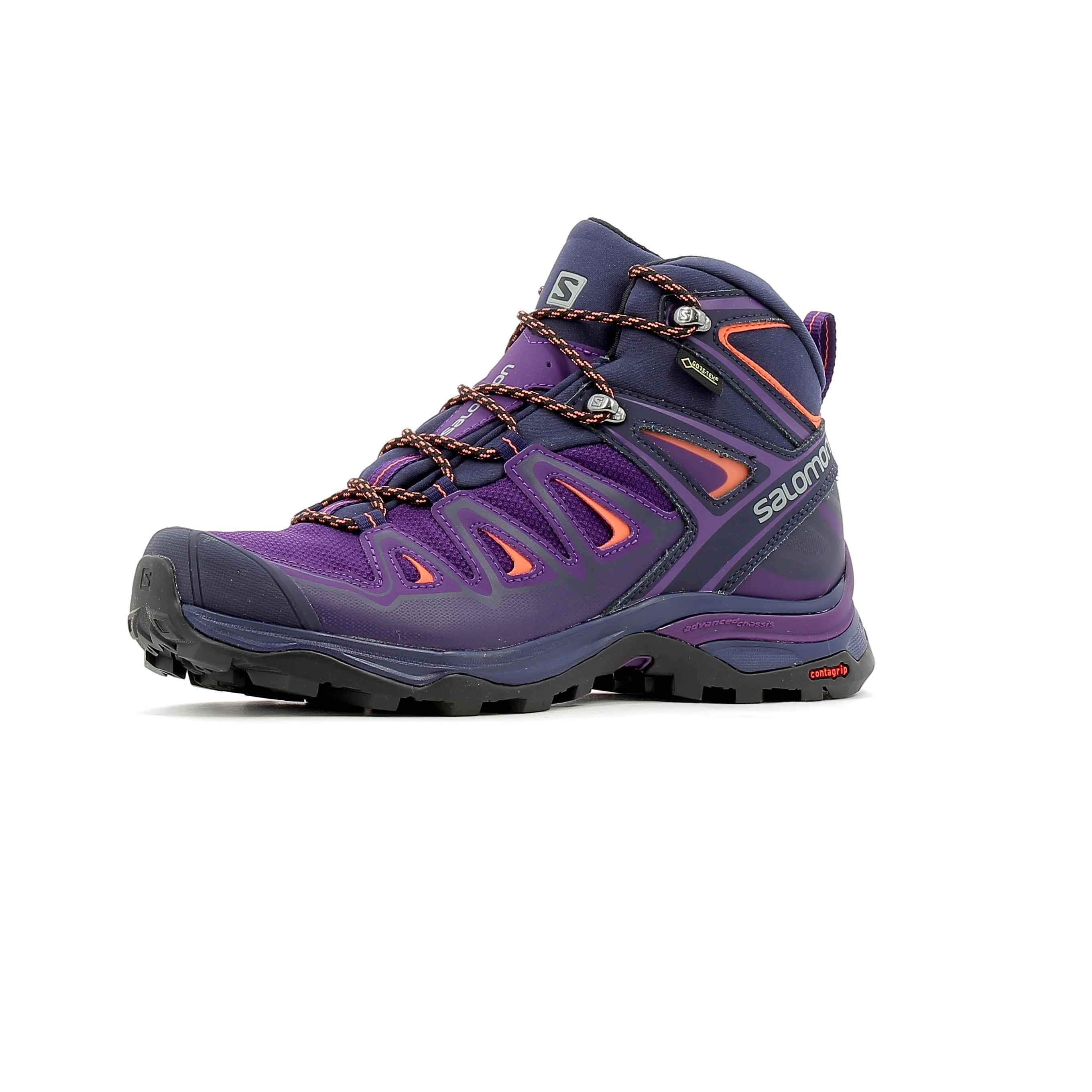 pas cher rechercher le dernier pas cher à vendre Chaussures de randonnée femme Salomon X Ultra 3 Mid GTX W
