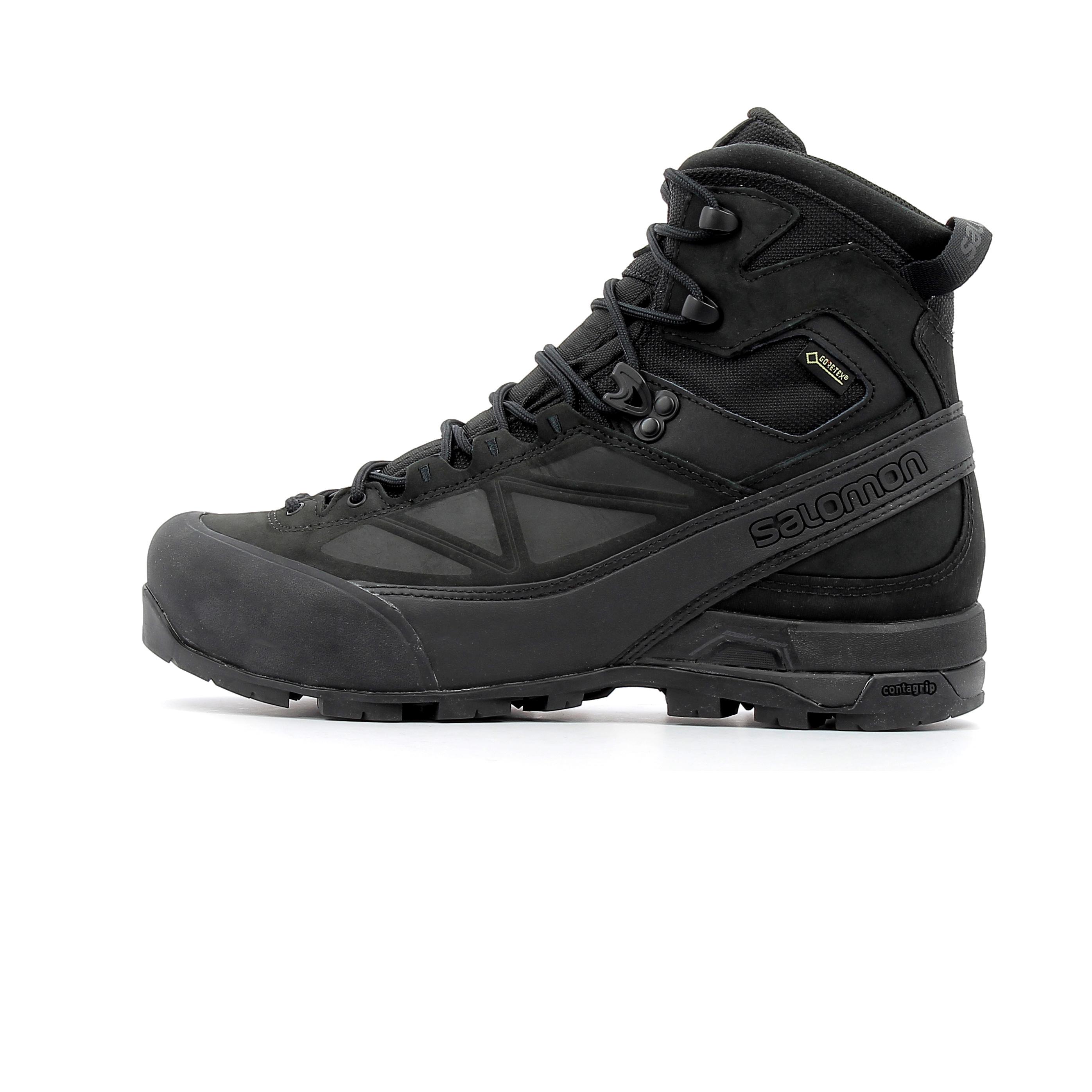 100% authentique 8ea5a 3a305 Chaussure de randonnée en cuir Salomon X ALP MNT Gore-Tex