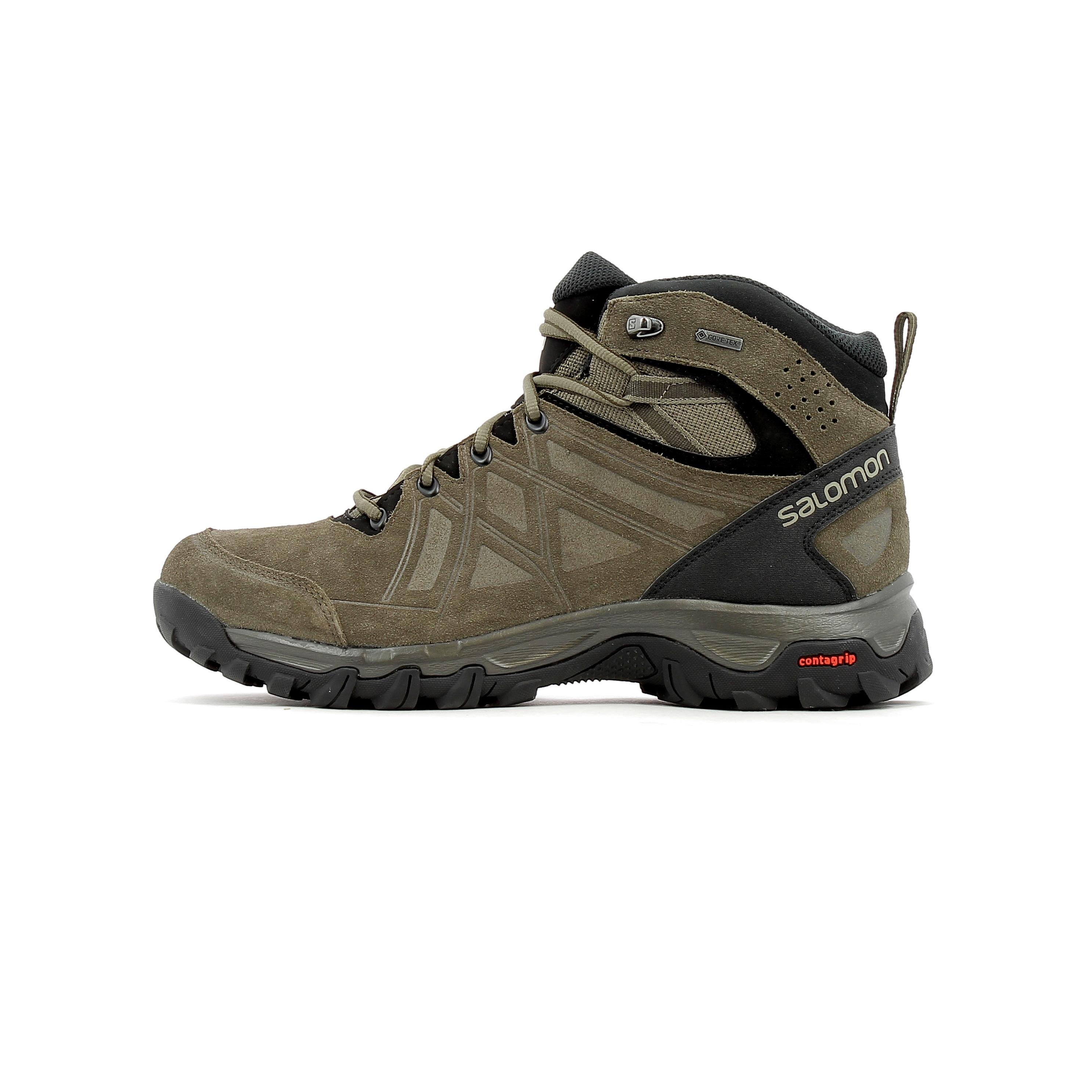 d8b3fbb7 Chaussure de randonnée Goretex Salomon Evasion 2 Mid LTR GTX