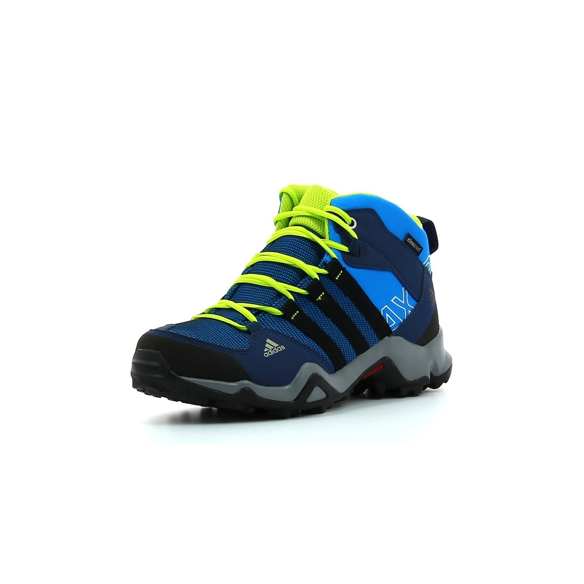 Chaussures De Randonnee Adidas Ax2 Mid Cp Bleu Noir