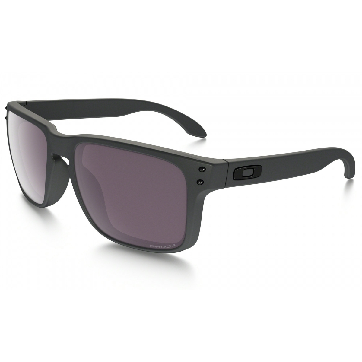 61063aa668c21d Lunettes Soleil Oakley Holbrook Steel Prizm Daily Polarized ...