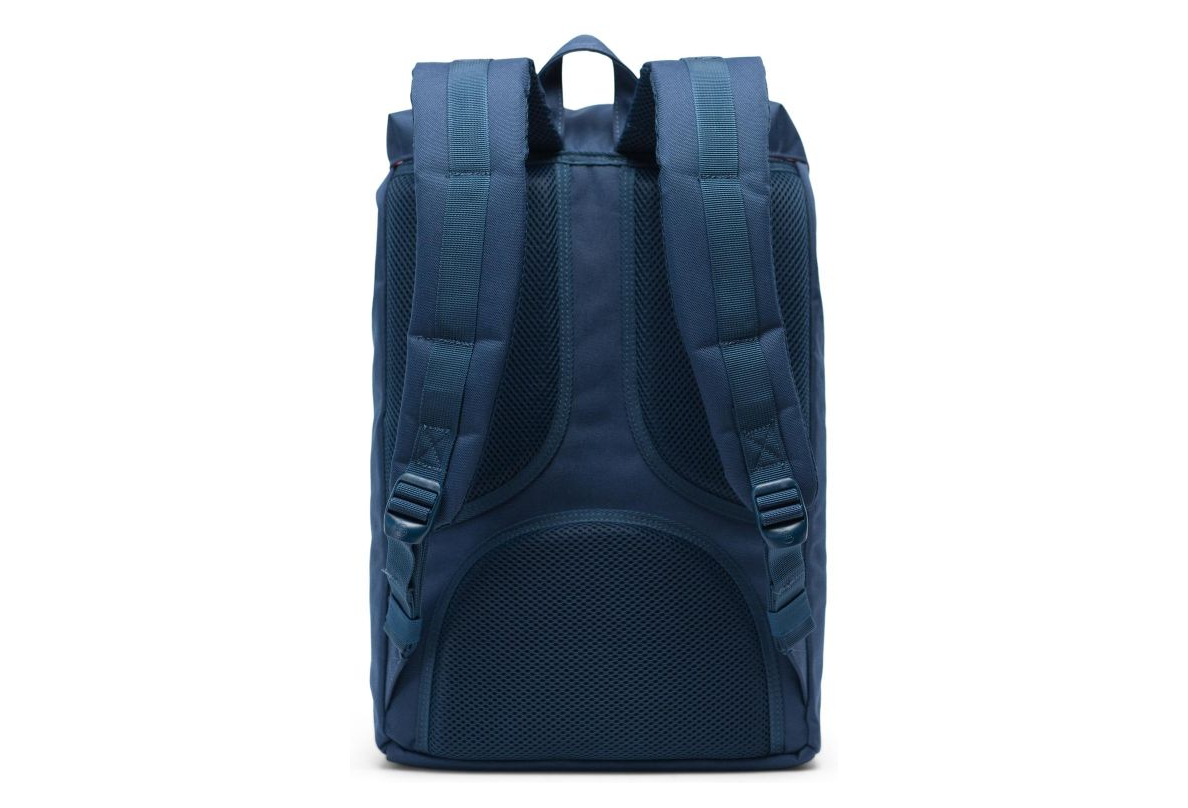 sells so cheap best HERSCHEL Little America 17L Backpack Navy Blue / Synthetic Leather