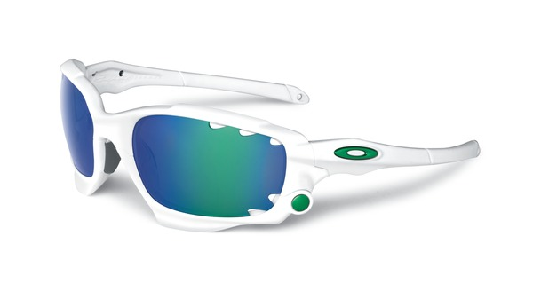 oakley racing jacket sunglasses matte white w jade iridium oo9171 rh alltricks com