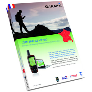 GARMIN TOPO Map FRANCE FULL V3 + Micro SD Card preloaded