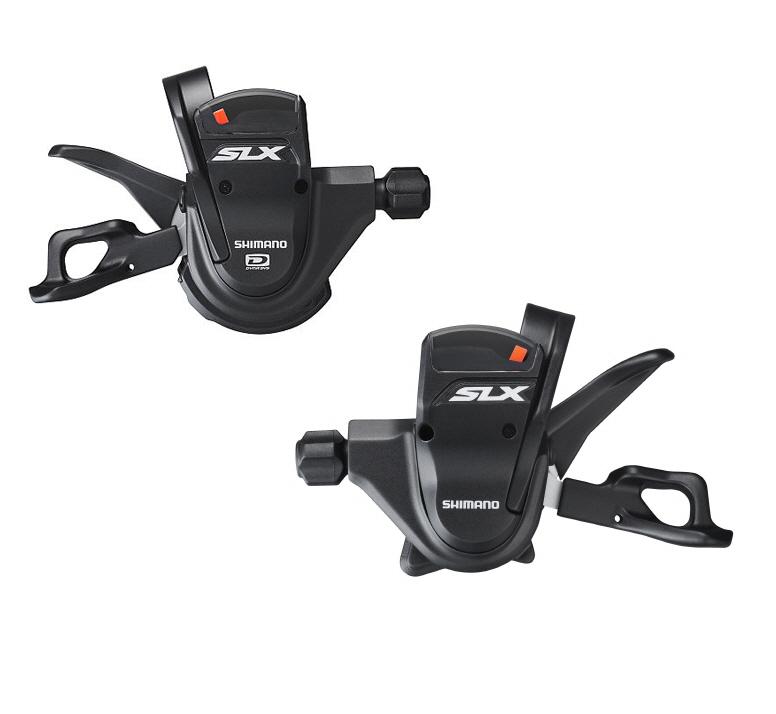 Shimano SLX M670 10 Speed Trigger Shifters - Bar Mount
