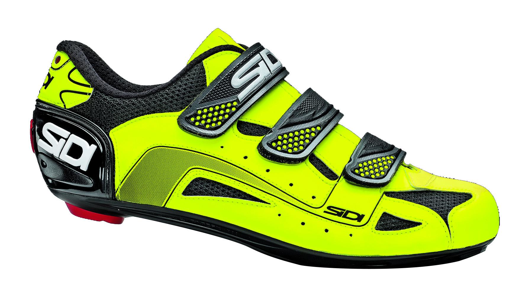 chaussures route sidi tarus 2013 noir jaune fluo. Black Bedroom Furniture Sets. Home Design Ideas
