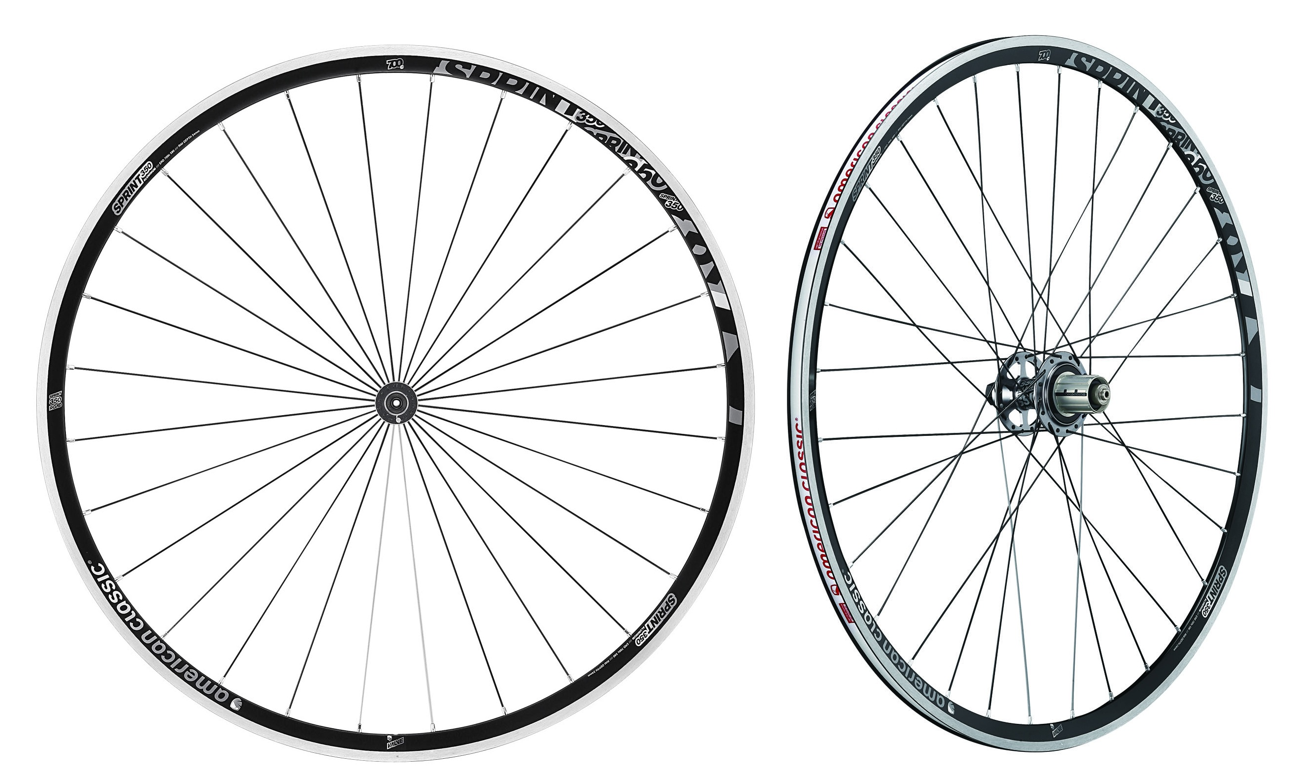 Wheelset sprint 350 tubeless american classic body for American classic realty