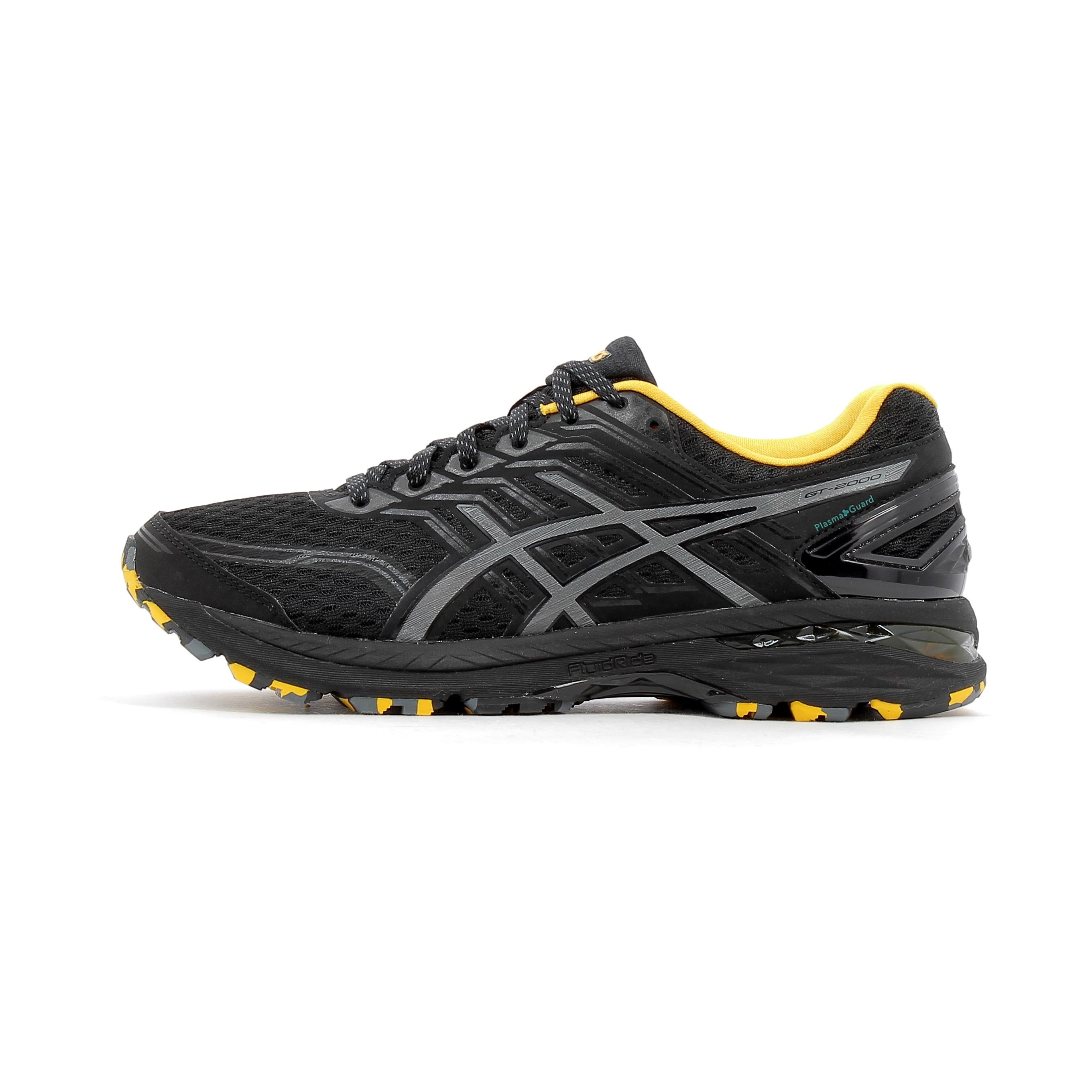 Chaussures Noir 2000 Running Trail Plasmaguard Asics Gt De 5 OPw0k8n