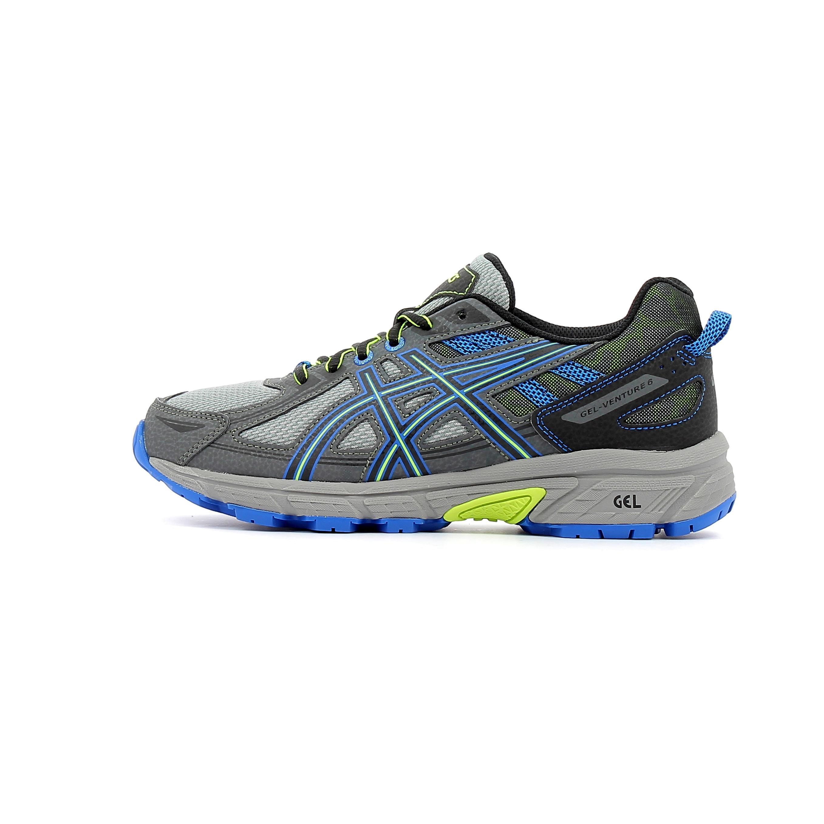 fc05f971d179d Chaussures Enfant Asics Gel Venture 6 GS enfant Gris