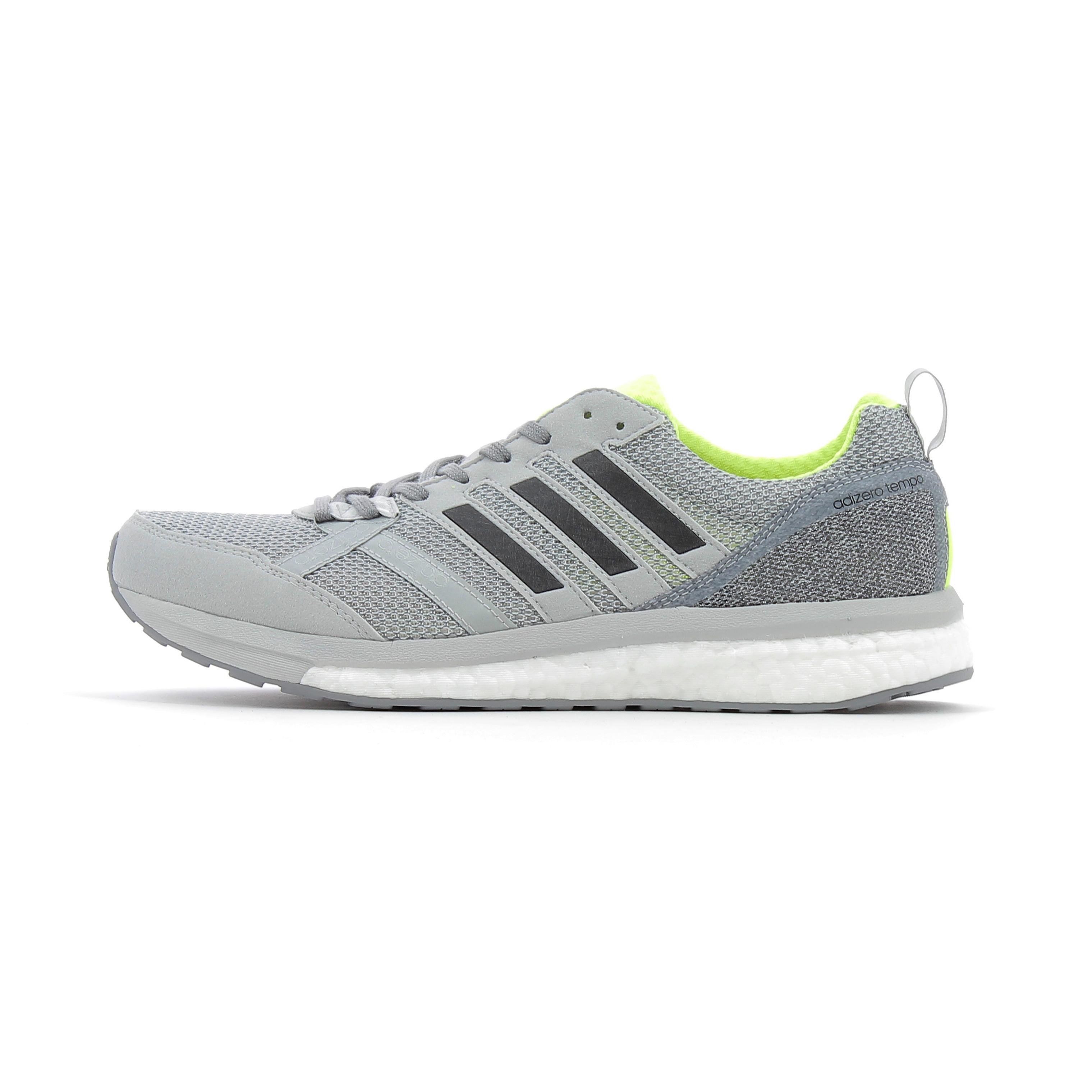promo code 17d91 0ba20 Chaussures de Running adidas running Adizero Tempo 9 Gris