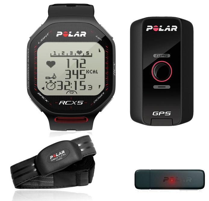 POLAR Cardio RCX5 GPS G5 Noir | Alltricks.fr
