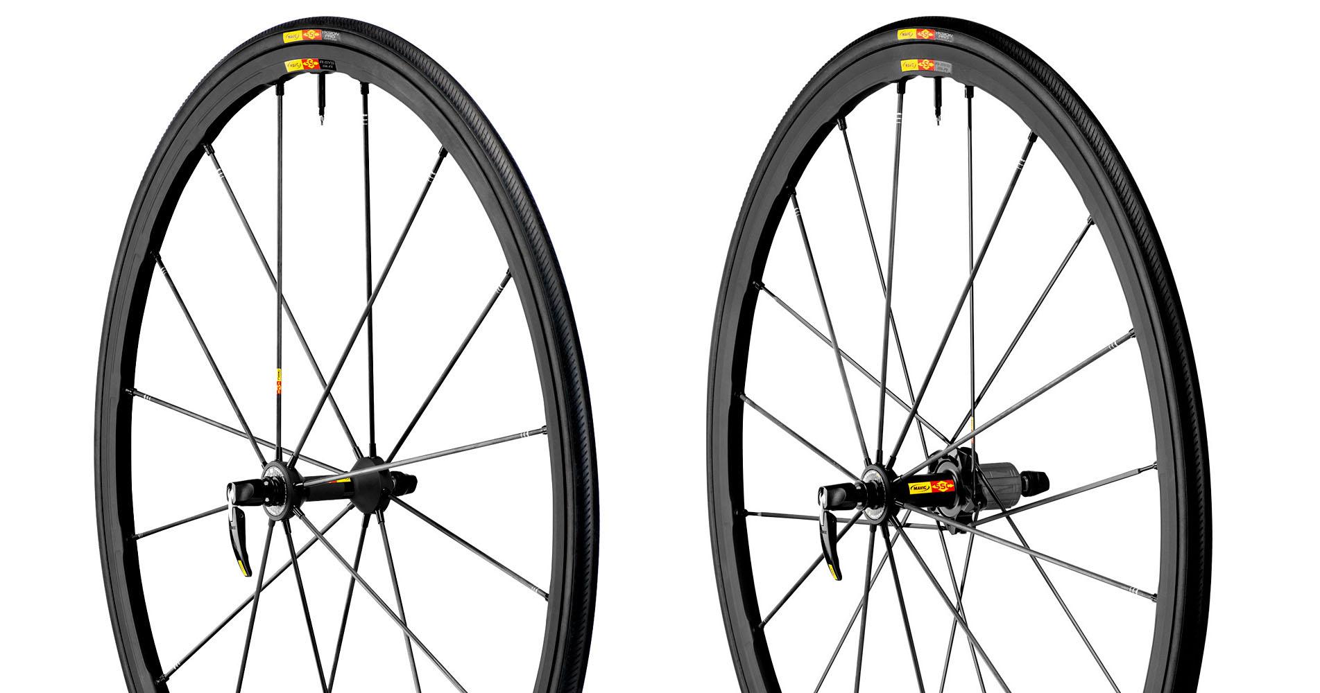 mavic 2014 paire de roues r sys slr version shimano sram pneus yksion pro. Black Bedroom Furniture Sets. Home Design Ideas