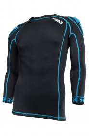 bliss protektor shirt vertical ld top schwarz blau. Black Bedroom Furniture Sets. Home Design Ideas