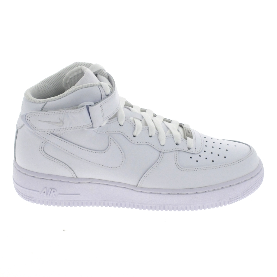 purchase cheap d71e8 2f94c Basket mode - Sneakers NIKE Air Force 1 Mid Blanc