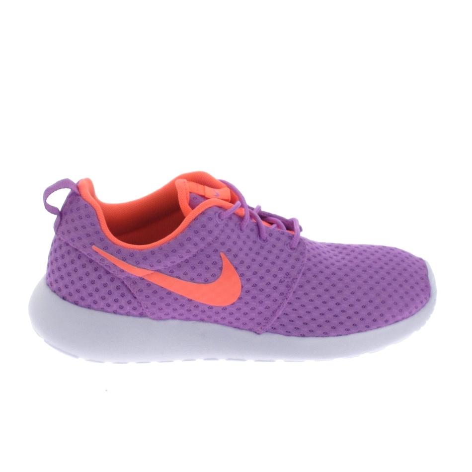 le dernier be4db 6613a Basket -mode - Sneakers NIKE Rosherun Violet Saumon