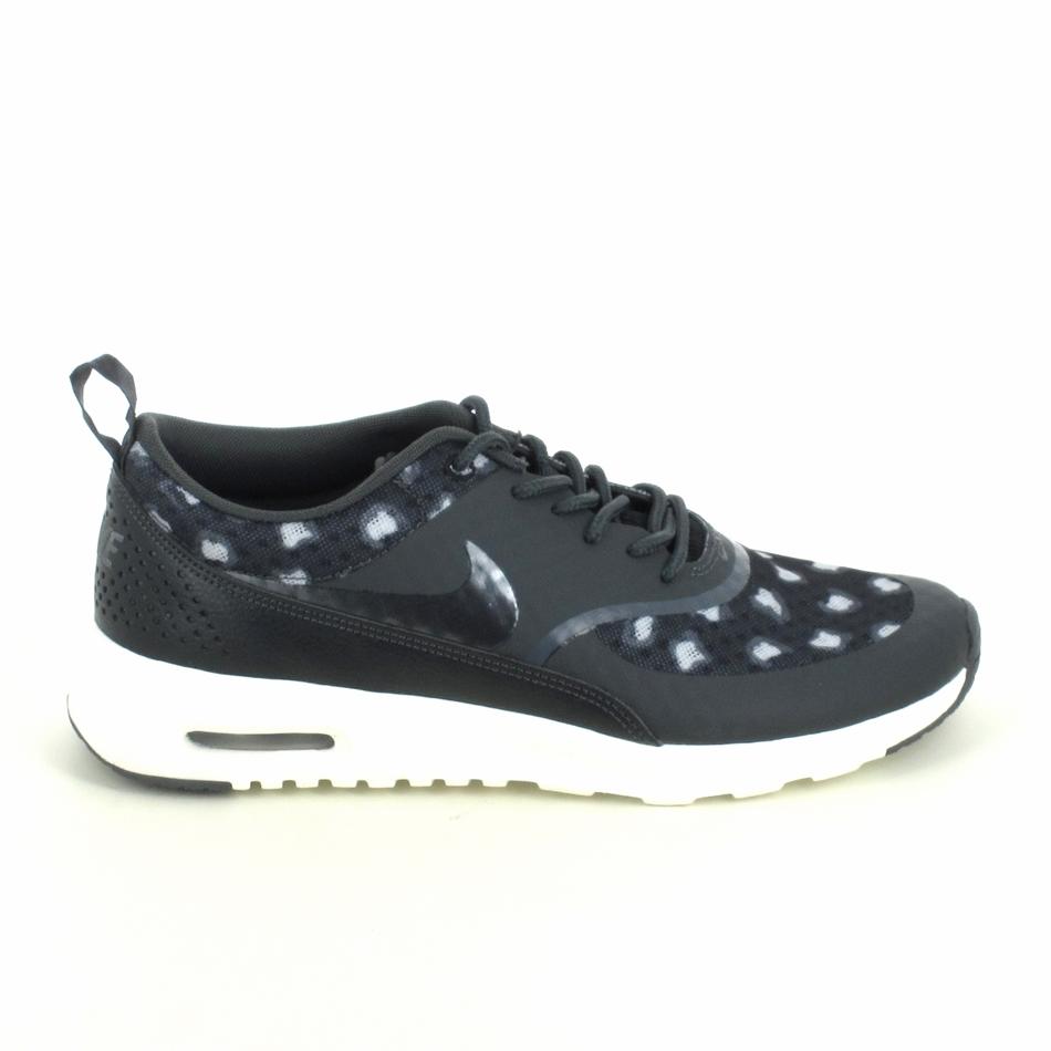 24da374bc8bd Basket -mode - Sneakers NIKE Air Max Thea Print Noir Gris ...