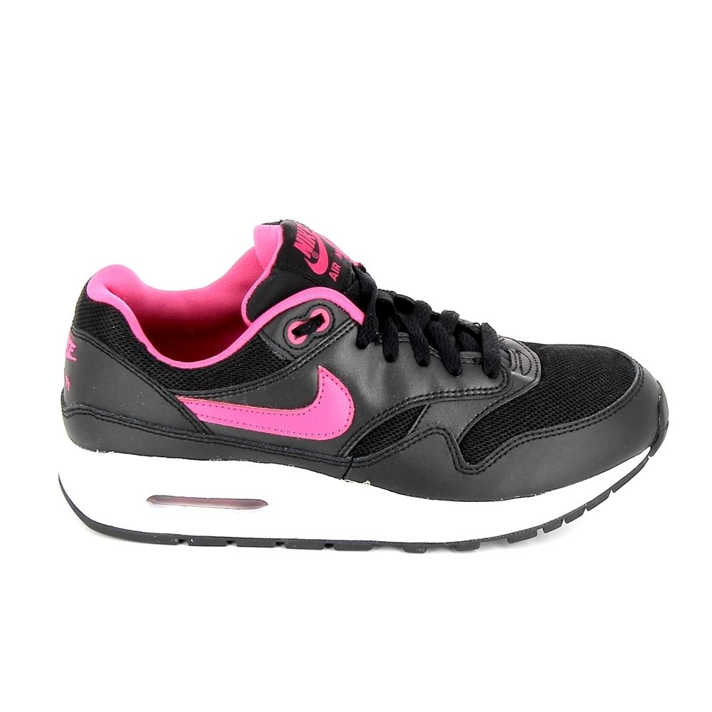 6893296bbc072 Basket mode, Sneaker NIKE Air Max 1 JR Noir Rose   Alltricks.com