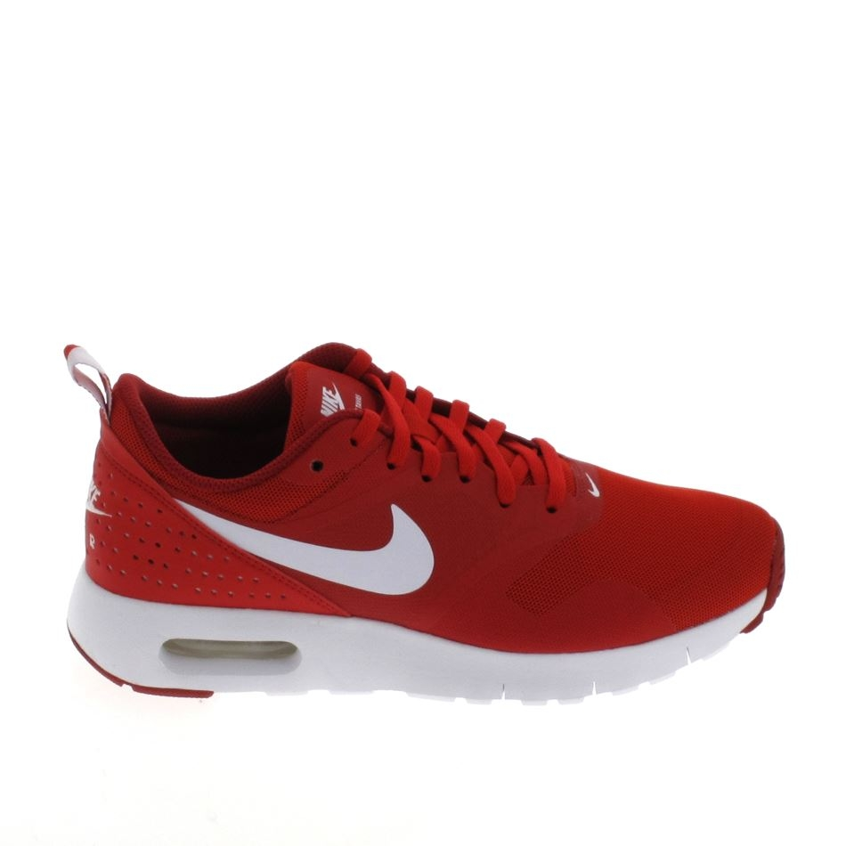 Basket mode, Sneaker NIKE Air Max Tavas JR Rouge Blanc