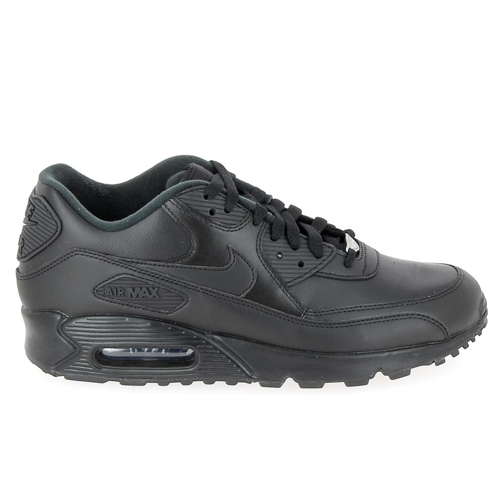Sneakers NIKE Air Max 90 Cuir Noir