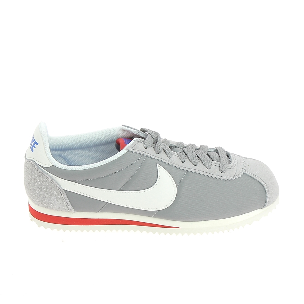 new product 7ad9b df2fa Sneakers NIKE Classic Cortez Nylon Prm Gris Rouge