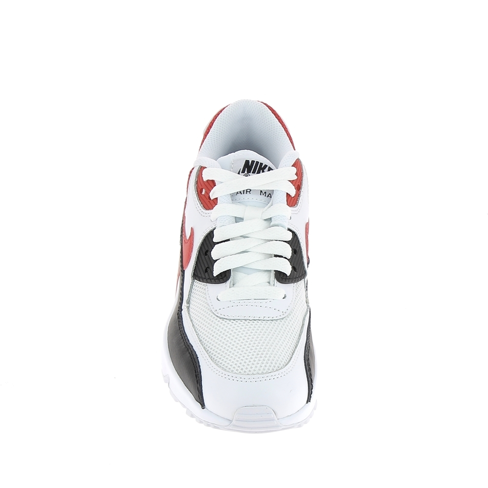 buy popular ca25c 5d9cc Basket mode, Sneaker NIKE Air Max 90 Mesh Jr Blanc Rouge
