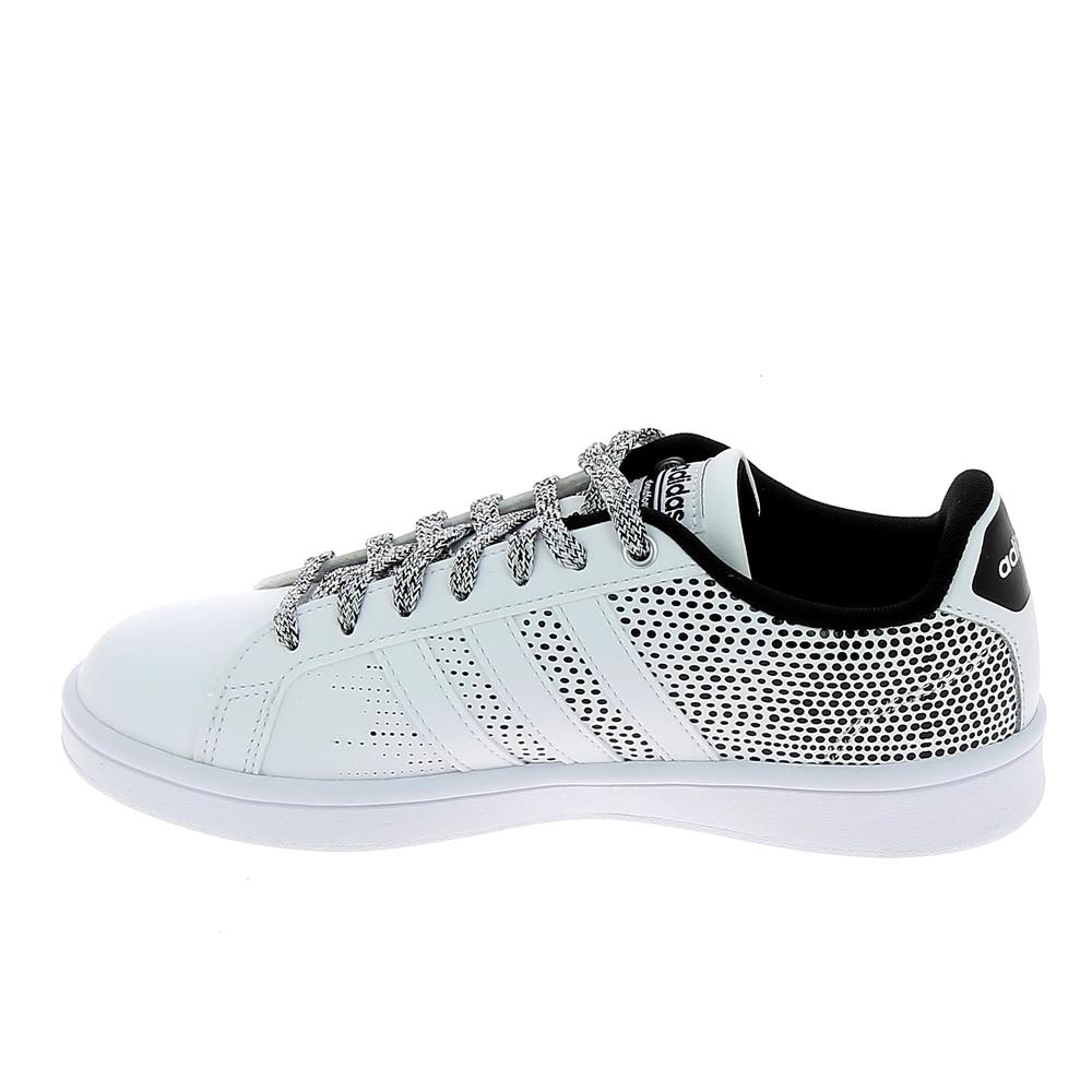 newest dbf4c fd449 Basket mode, SneakerBasket -mode - Sneakers ADIDAS Advantage Blanc Gris