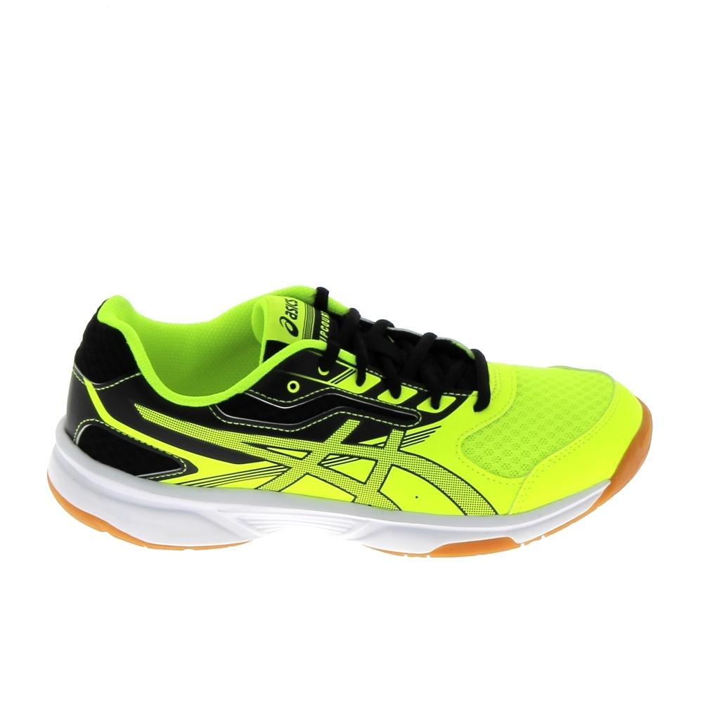 pas cher pour réduction 55b2f 2d296 Chaussure de tennis ASICS Gel Upcourt 2 GS K Jaune Noir