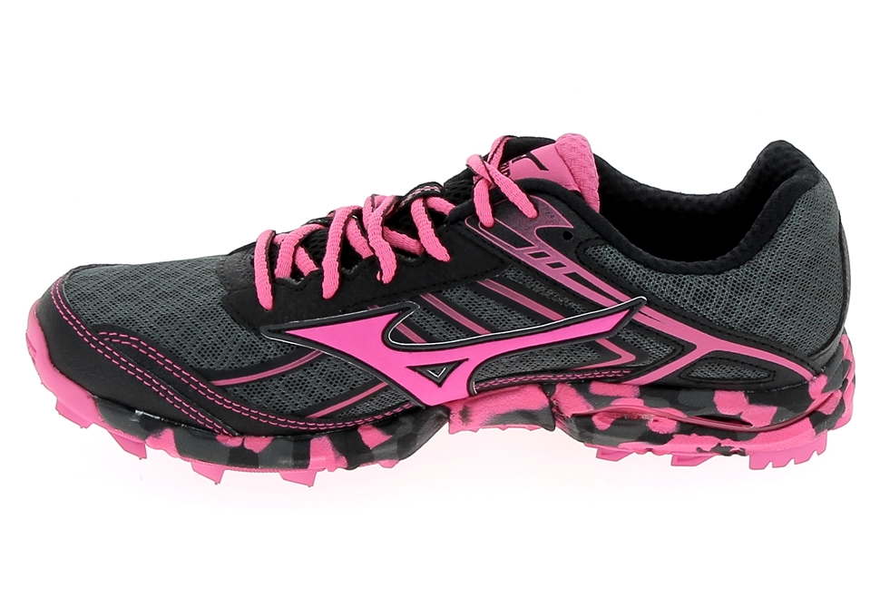Chaussure de runningRando Trail MIZUNO Wave Hayate 3 Noir Rose