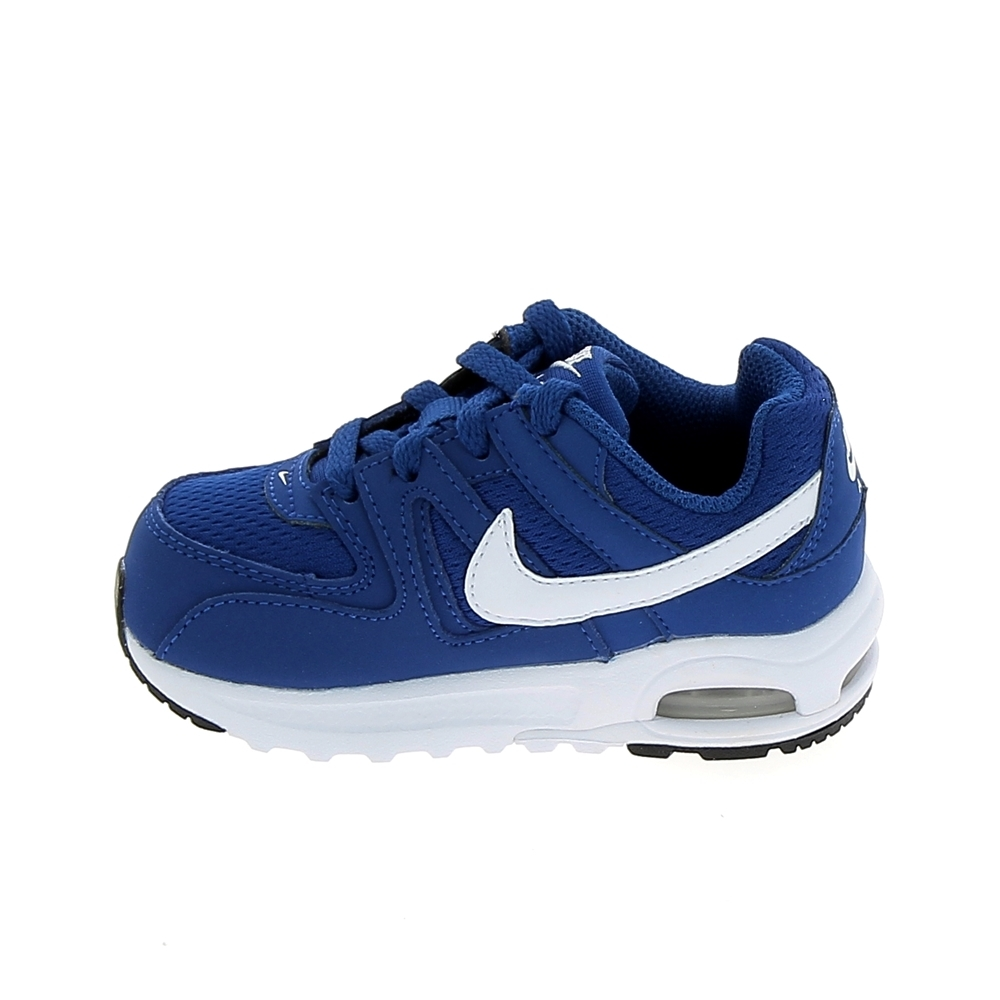 Basket mode, Sneaker NIKE Air Max Command Flex BB Bleu Blanc