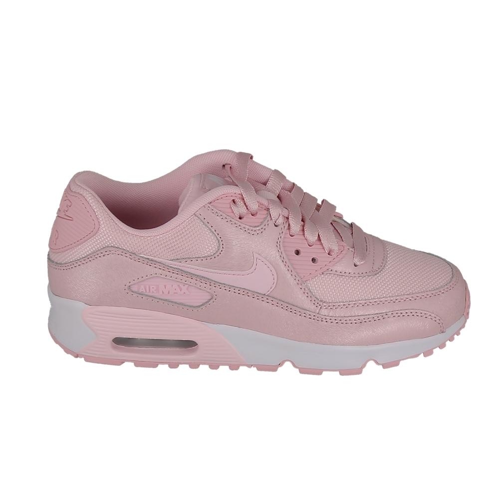 acheter pas cher 3ed15 58494 Basket mode, Sneaker NIKE Air Max 90 SE Mesh Jr Rose