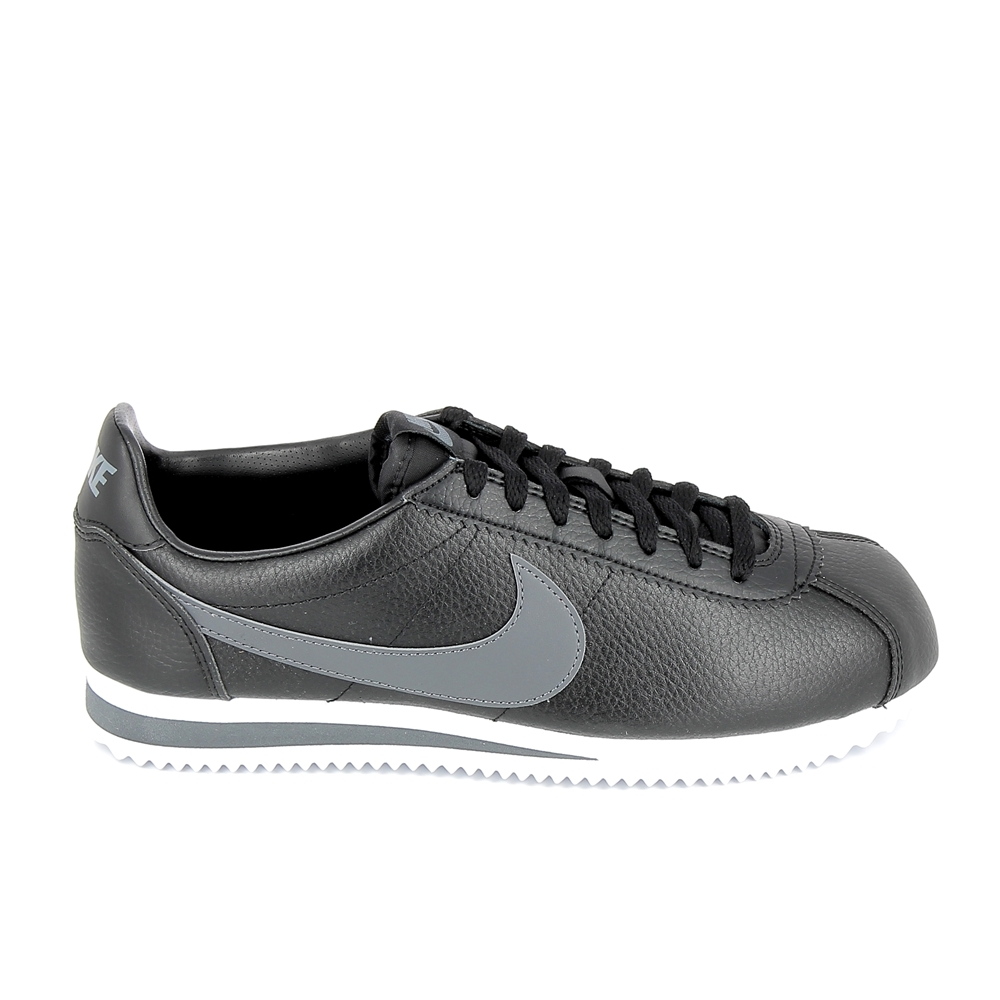 brand new 7d52e b284f ... canada basket mode sneakerbasket mode sneakers nike classic cortez lea  noir gris 39ca5 5cac5