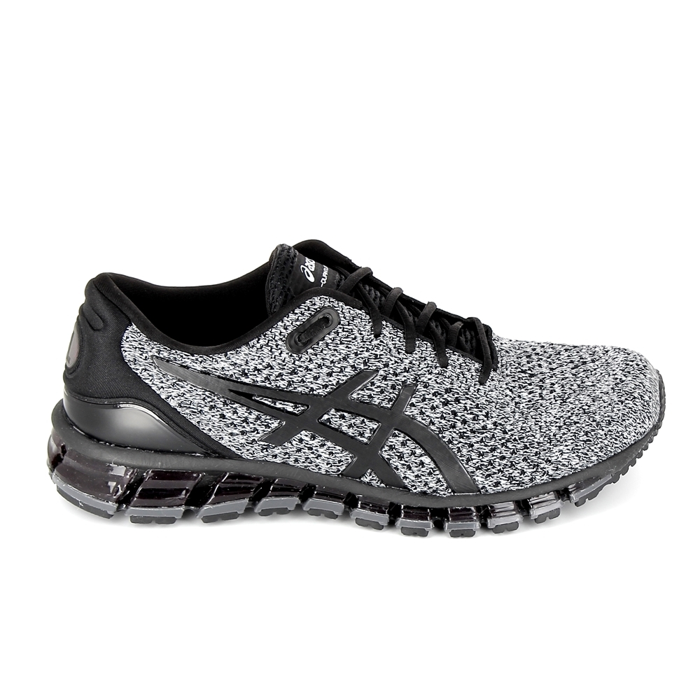 huge selection of d023f b4f24 Chaussure de runningBasket mode - Sneakers ASICS Gel Quantum 360 Knit 2  Noir Gris