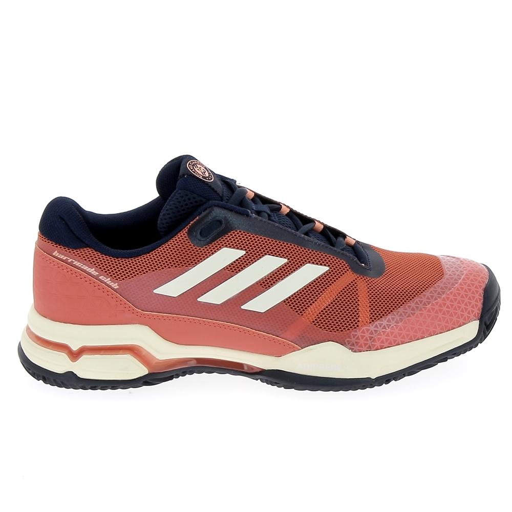 Club Multisports Adidas Barricade Rouge De Marine Clay Chaussure Tennistennis hrxtsCQd