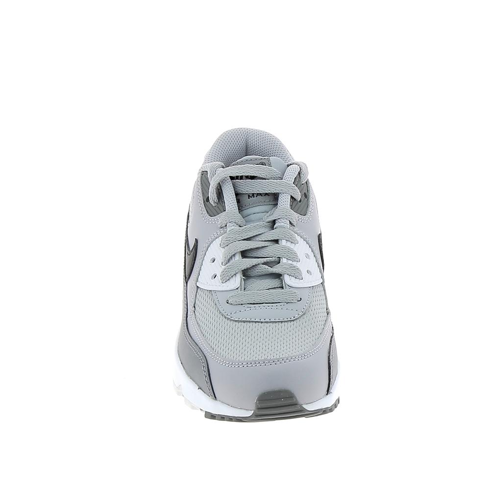 Basket mode, Sneaker NIKE Air Max 1 Jr Noir Gris Blanc