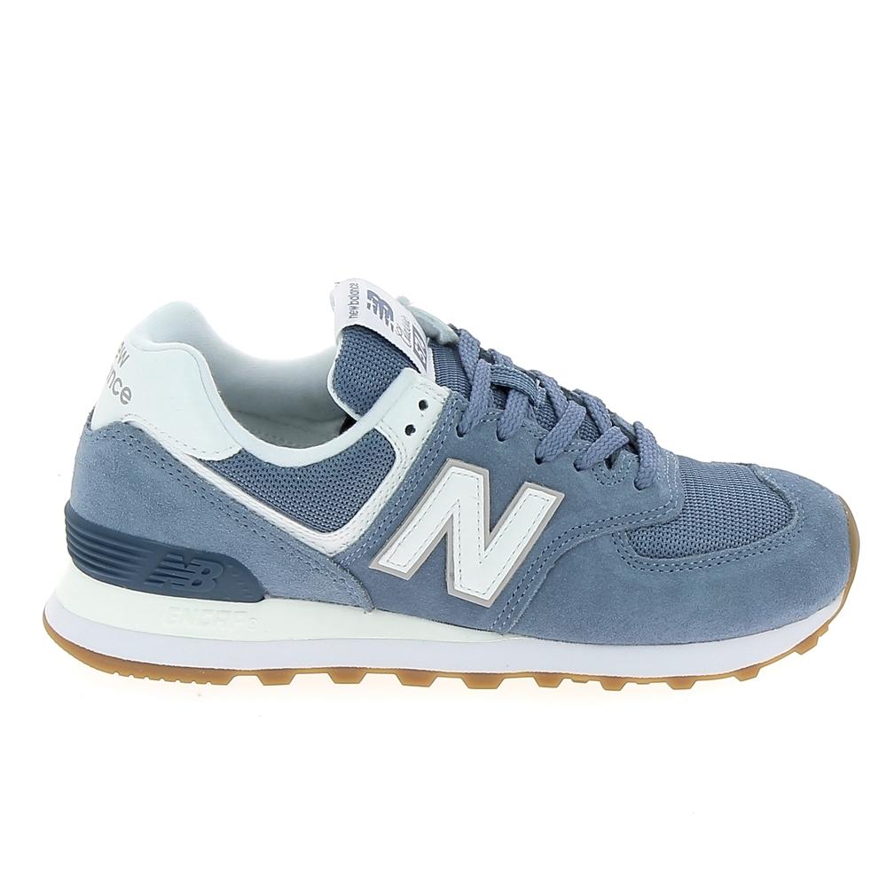 en soldes c9dd2 ff3fb Basket mode, SneakerBasket -mode - Sneakers NEW BALANCE W574 Bleu