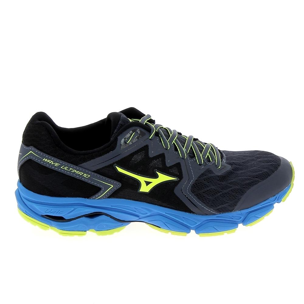 Bleu Mizuno De Wave Ultima Chaussures 10 Running EvqPYx