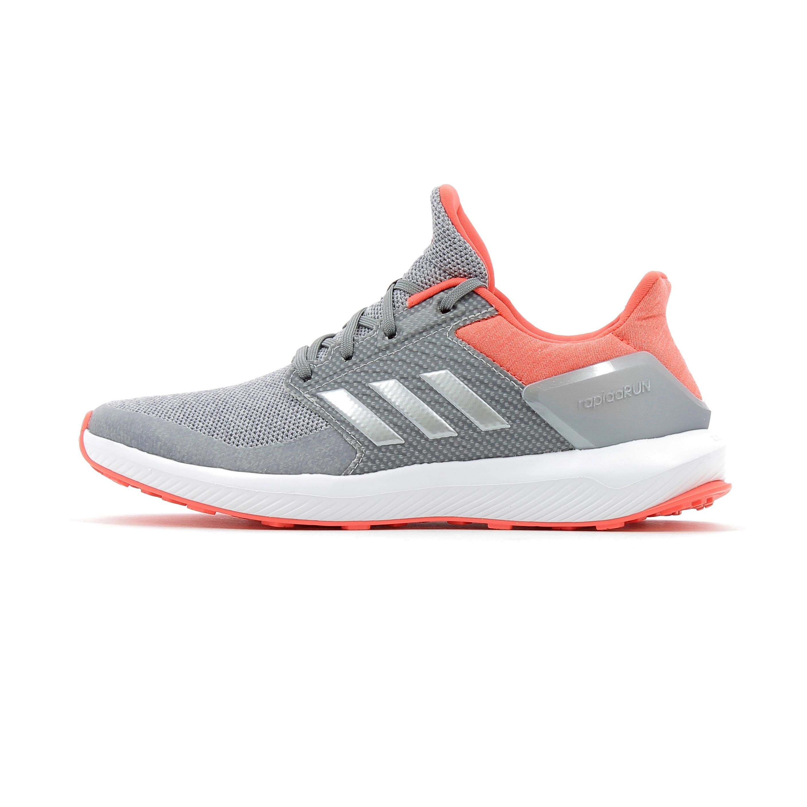 Chaussures de running enfant Adidas Performance RapidaRun Kids Gris