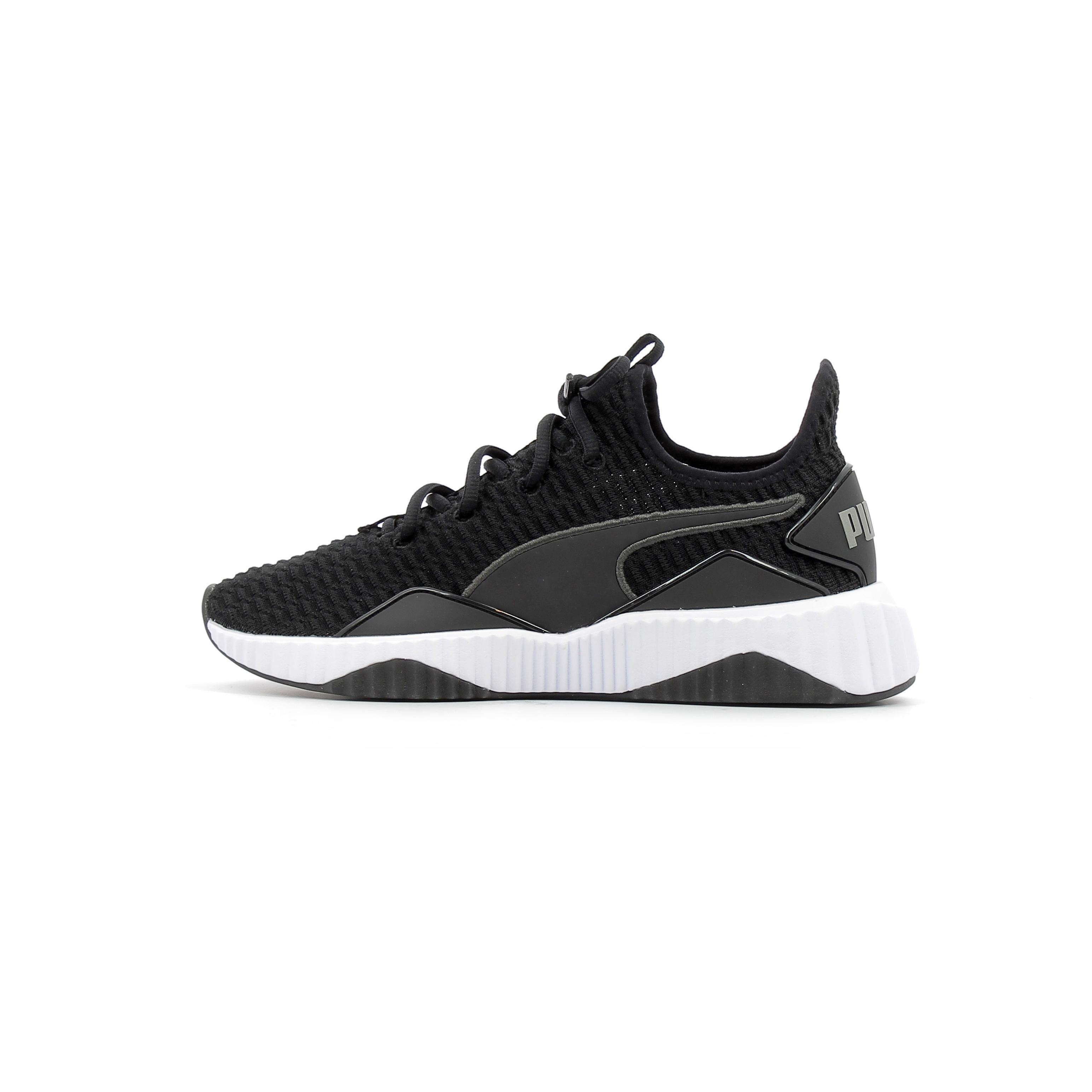 dernières conceptions diversifiées mode la plus désirable nouvelle arrivée Baskets basses Puma Defy W Noir