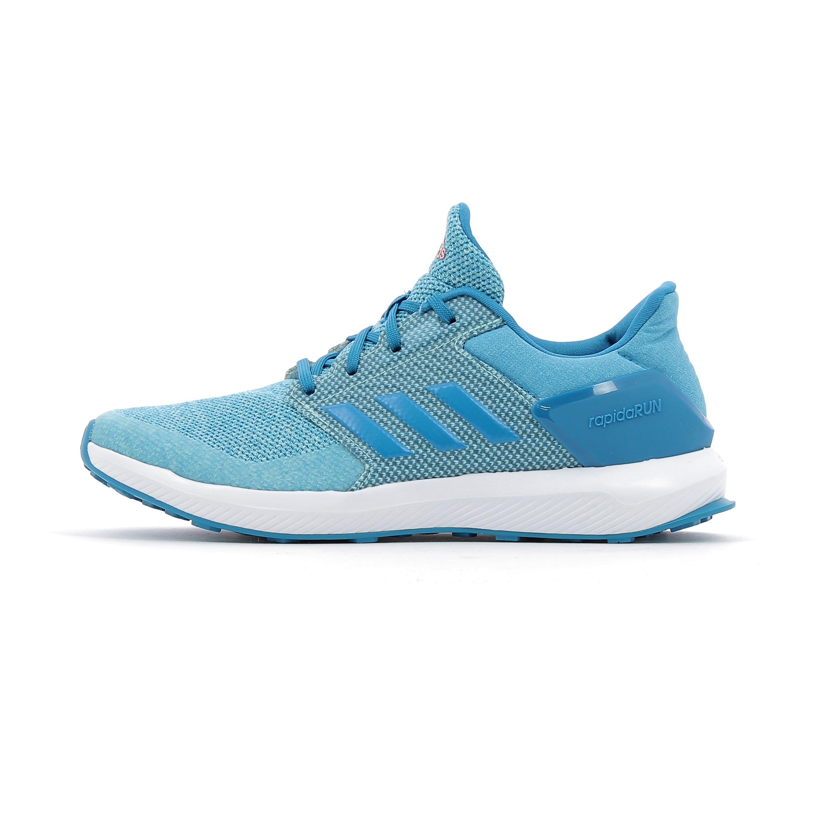 Chaussures de running enfant Adidas Performance RapidaRun Kids Bleu ... a8bb644dd20