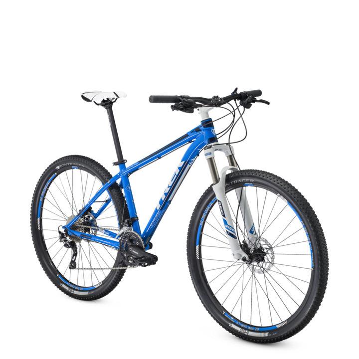 trek 2014 hardtail bike x caliber 8 e 29 39 39 blue white. Black Bedroom Furniture Sets. Home Design Ideas