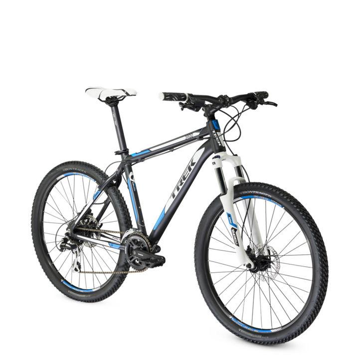 trek 2014 hardtail bike 3900 d 26 39 39 black blue. Black Bedroom Furniture Sets. Home Design Ideas