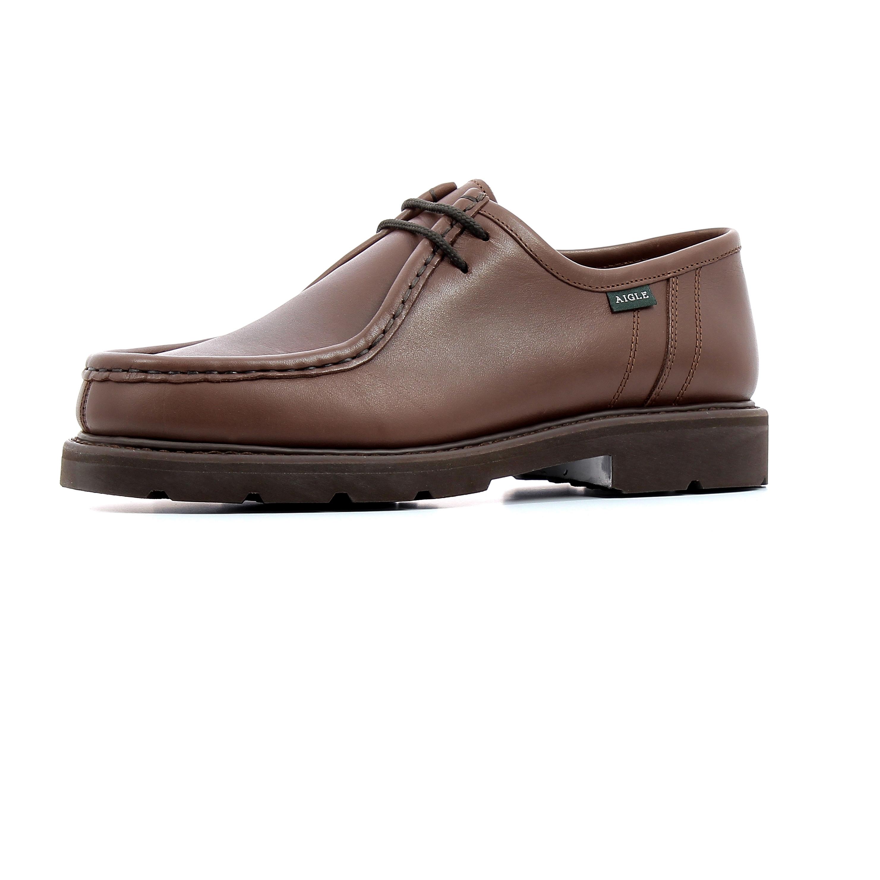 Chaussures de ville Aigle Bourgogne Marron