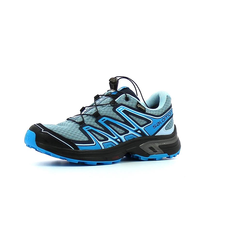 209596fcdfb Chaussures de Trail Femme Salomon Wings Flyte 2 GTX W Bleu ...